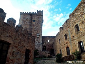Alburquerque castle