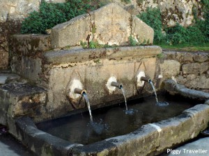 Fountain, Garganta la Olla