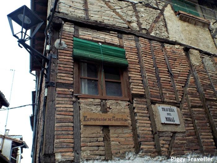 Hervás, traditional house