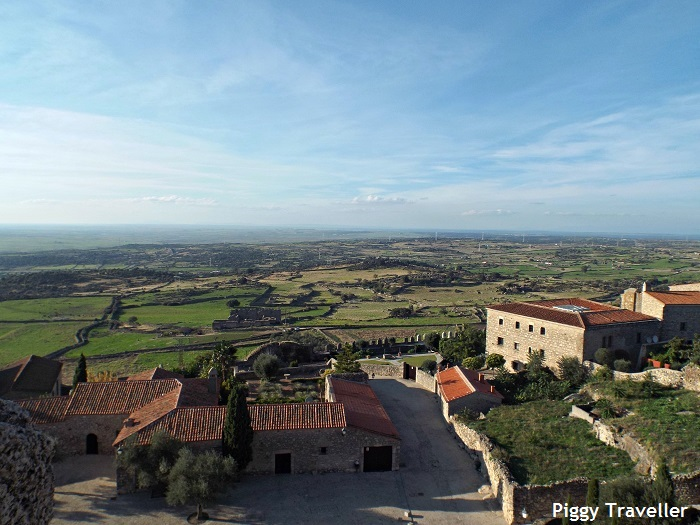 santa maria la mayor church, views from the tower