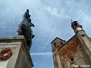 Trujillo, Pizarro statue