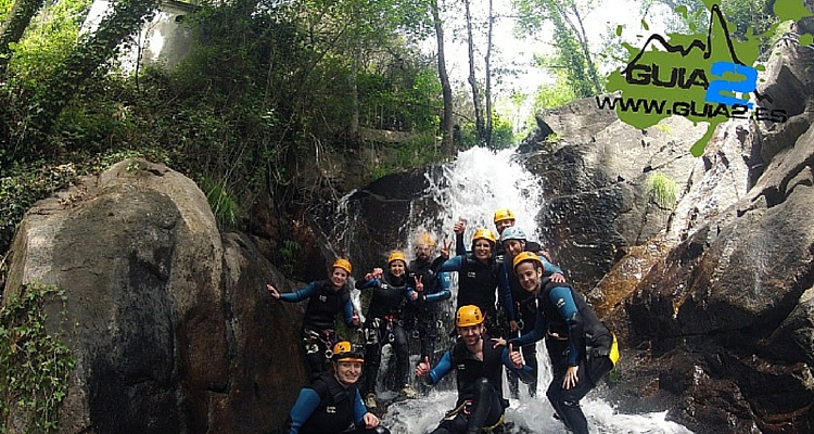 Adventure sports in Extremadura: Canyoning in Jerte Valley