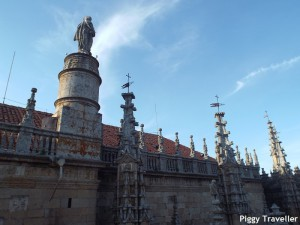 Plasencia cathedral. Roof.