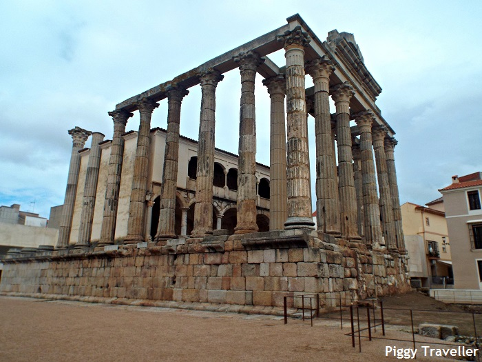 Templo de Diana, Merida