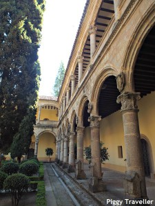 Cloister, Yuste Monastery