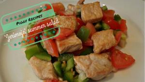 Jerimoje Spanish salad
