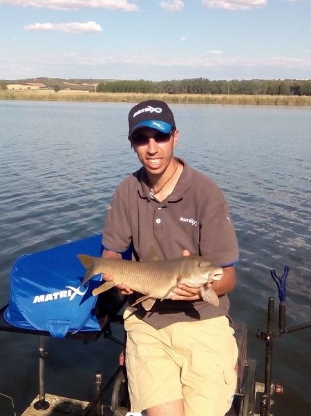 Carlos Labrador, professional fisherman