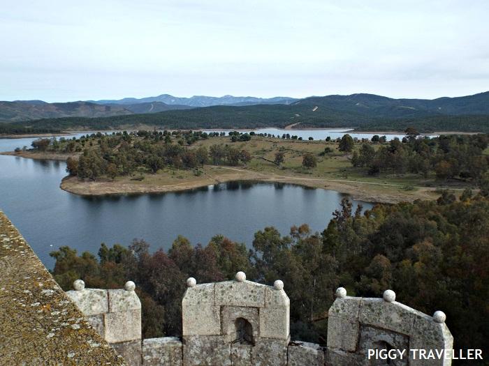 Granadilla, ghost town in Extremadura.