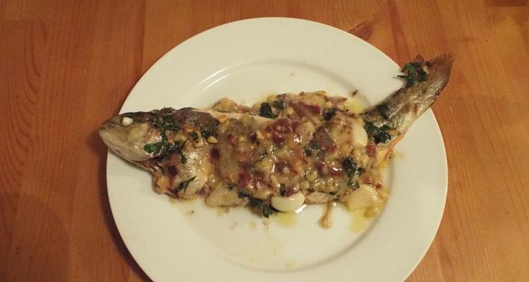 Fish recipes – Jerte-style trout