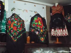 Shawls and women's dress