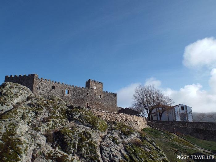 Montánchez castle, Extremadura