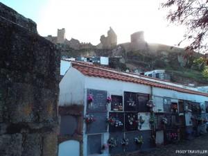 Cemetery in Montanchez, Extremadura