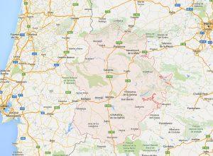 Extremadura-map