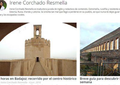 Extremadura blog posts for Vacaciones-España.es