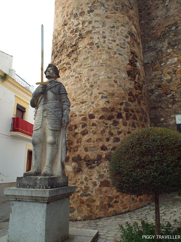 Puerta de Burgos, Jerez de los Caballeros, Extremadura