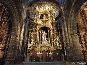 San Miguel church altarpiece, Jerez de los Caballeros, Extremadura