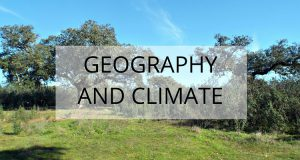 geography and climate extremadura