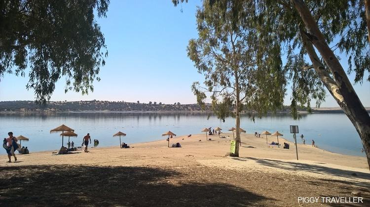 Orellana, reservoir, Extremadura