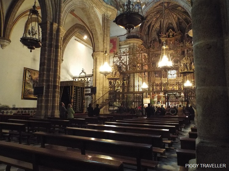 church, Guadalupe monastery