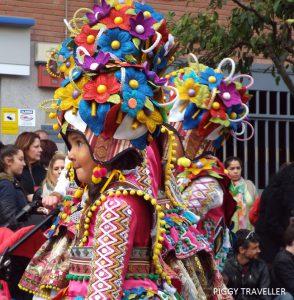 Badajoz Carnival_ flower girls