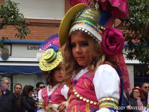 Badajoz Carnival_gypsy girl