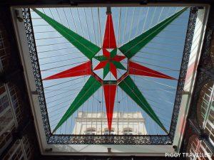 glass ceiling at mirador de llerena