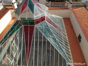 glass ceiling, mirador de llerena