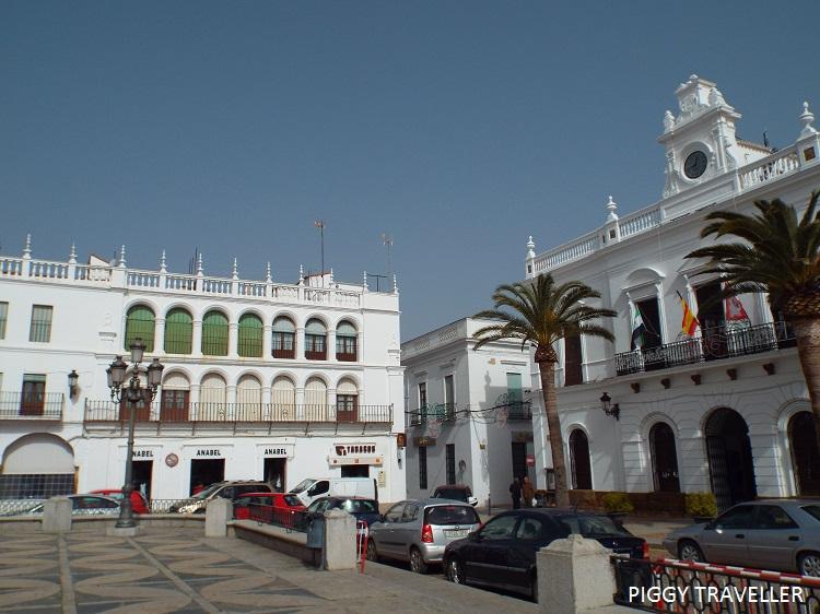 Llerena main square, Badajoz