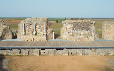Visiting the former Roman city of Regina in southern Extremadura