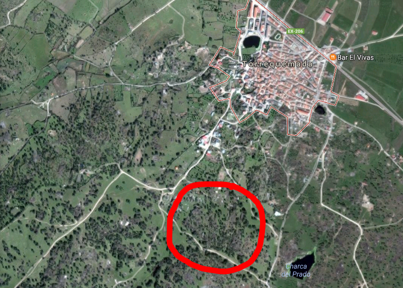 Corralas, Torrequemada