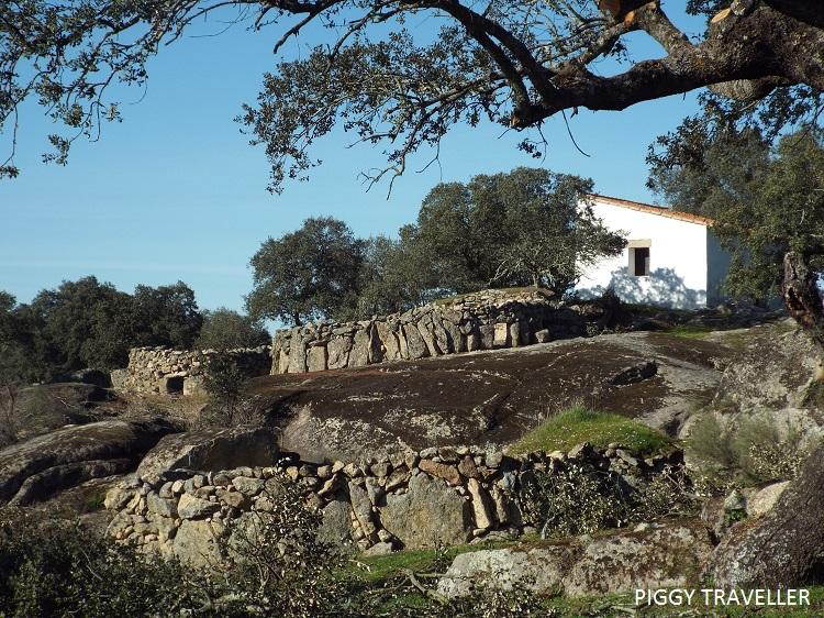 corralas in Torrequemada, Extremadura