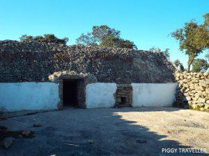 white corrala, Torrequemada, Extremadura