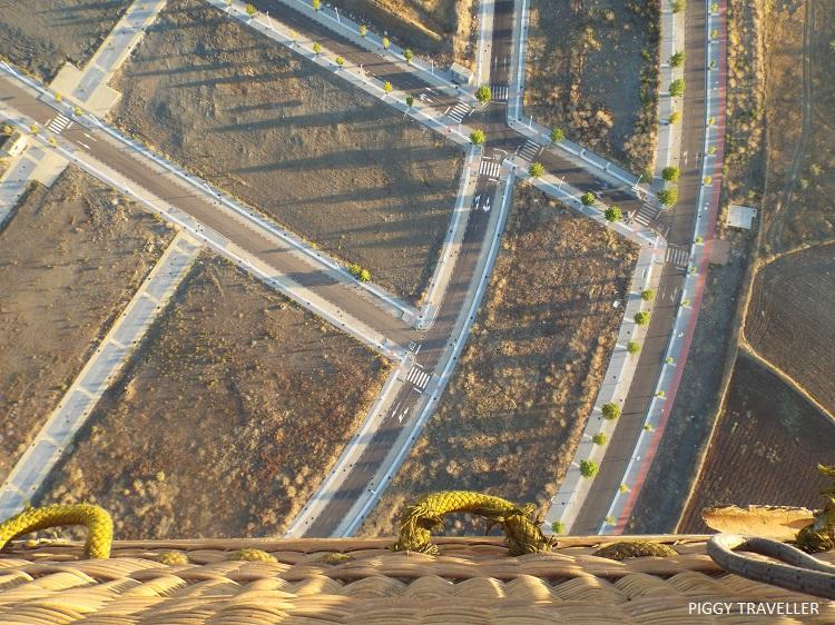 Merida, Extremadura_city from above