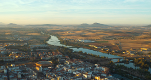 Merida, Extremadura_from above
