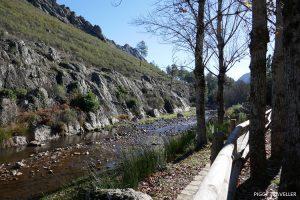 river Ruecas, Extremadura