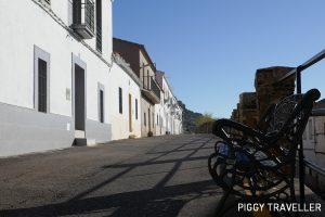 Extremadura castles - Benquerencia de la Serena, bench