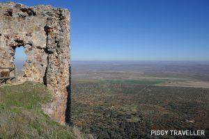 Extremadura castles - Benquerencia de la Serena, castle and views