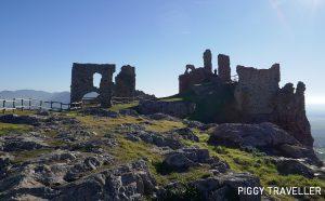Extremadura castles - Benquerencia de la Serena, castle ensemble