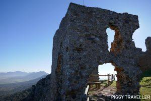 Extremadura castles - Benquerencia de la Serena, castle remains