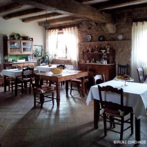 Accommodation in Sierra de Gata_El Cabezo_breakfast room