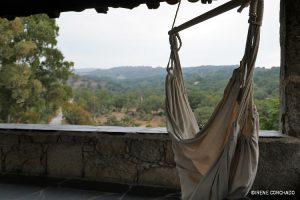 Accommodation in Sierra de Gata_El Cabezo_hammock
