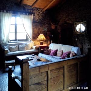 Accommodation in Sierra de Gata_El Cabezo_living room