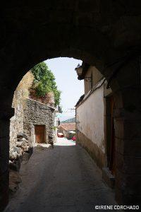 Santibanez el Alto, Sierra de Gata, Extremadura, Spain_gate