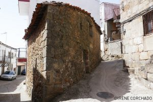 Santibanez el Alto, Sierra de Gata, Extremadura, Spain_streets