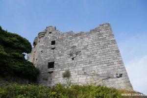 Trevejo castle, keep