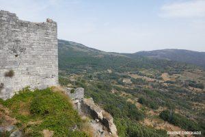 Trevejo castle, views