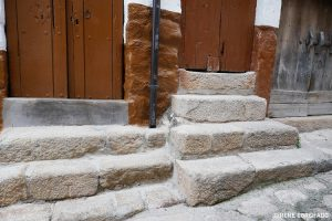 San Martin de Trevejo, Sierra de Gata, Extremadura_stairs
