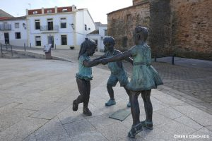 Romangordo main square