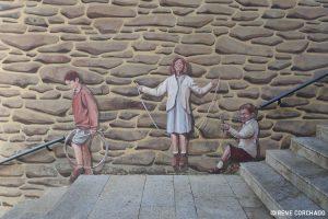 children playing_Romangordo, Extremadura