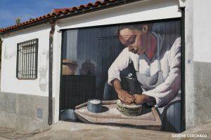 making cheese_Romangordo, Extremadura